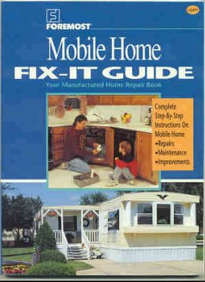 mobile home repair books-Foremost Mobile Home Fix it Guide Book Cover