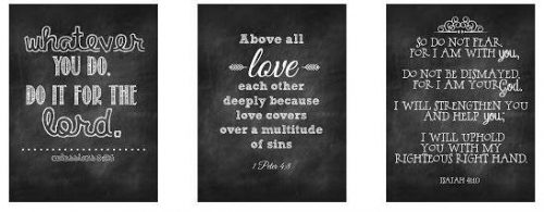 Free Bible Verse Printables - wall art on a budget