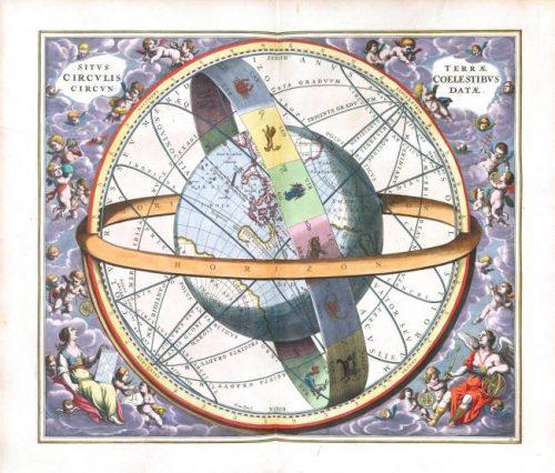 Free Vintage Astrology Printable to make cheap wall art