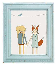Free cute printables to decorate your walls - free wall art