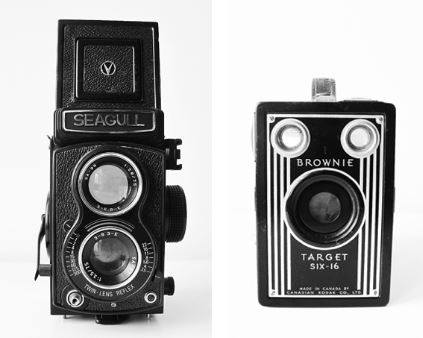 Free vintage camera printable - great wall art on a budget
