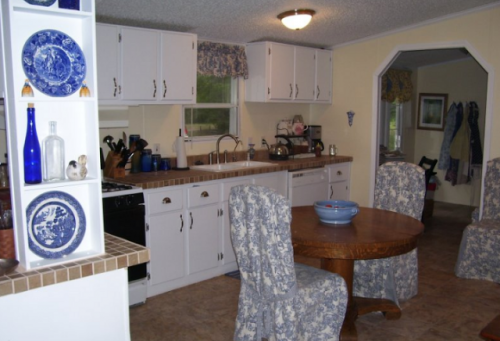 French Country Double Wide - Manufactured Home Makeover - Kitchen