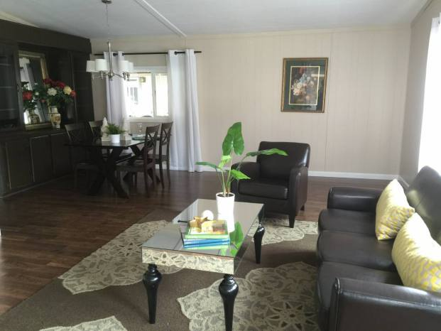 Fully remodeled manufactured home in san fran - living room 2
