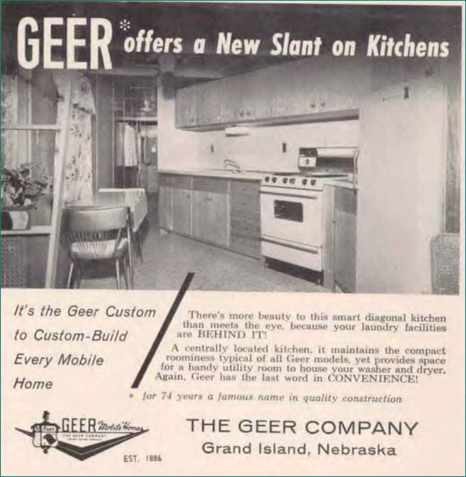Geer Slanted Kitchen 1960