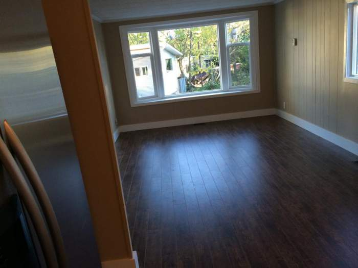 Great Remodeled Single Wide for sale - Living room after