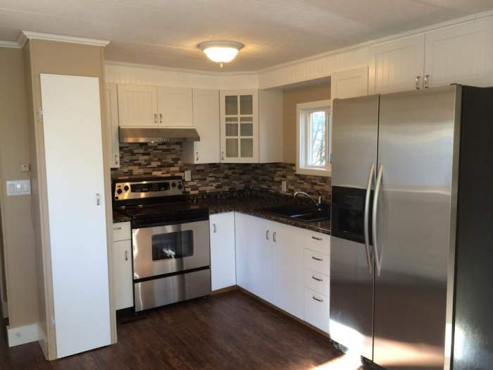 Remodeling A Mobile Home Kitchen That Is Small