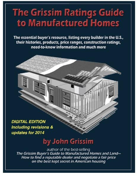 Grissim Ratings Guide to Manufactured HOme Builders