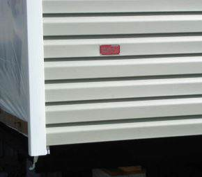 Manufactured Home Tags - must be one foot up and one foot over from the manufactured homes rear edge