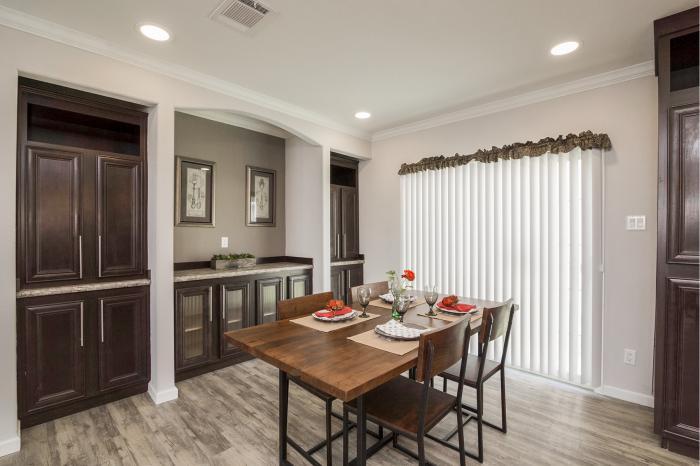 Hillcrest iv - best manufactured home design winner 2016 - dining room 3