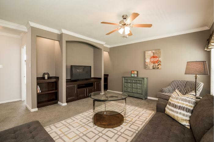 Hillcrest IV - Best Manufactured Home Design Winner 2016 - Living Room