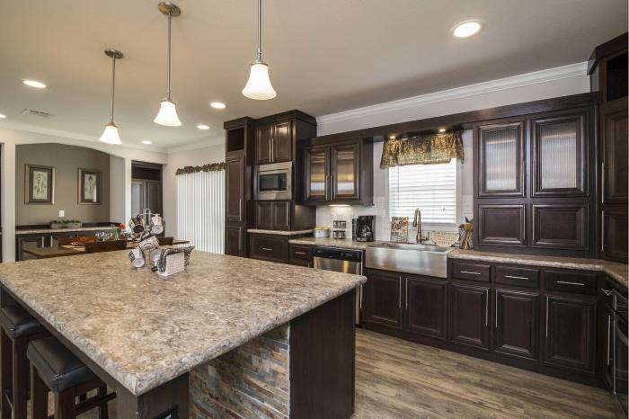 Hillcrest IV - Best Manufactured Home Design Winner 2016 - Kitchen 2
