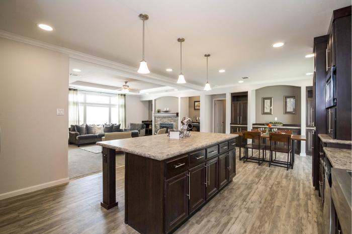 Hillcrest iv - best manufactured home design winner 2016 - dining room