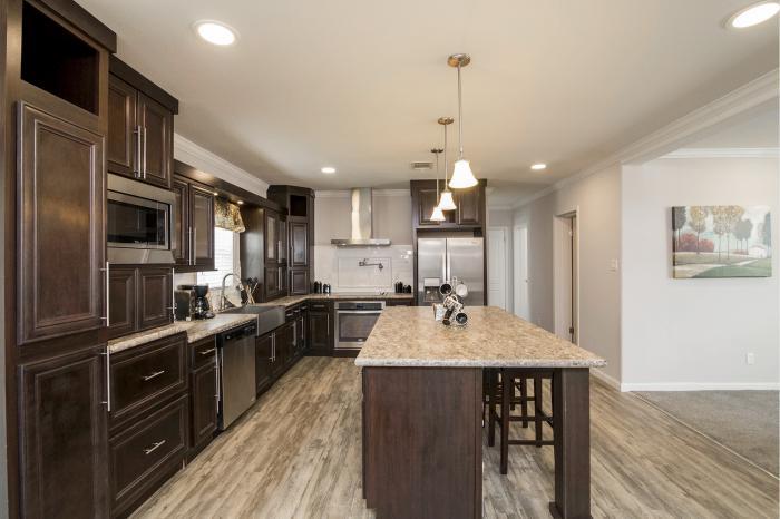 Hillcrest iv - best manufactured home design winner 2016 - kitchen