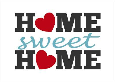 Home Sweet Home Printable - cheap wall art ideas
