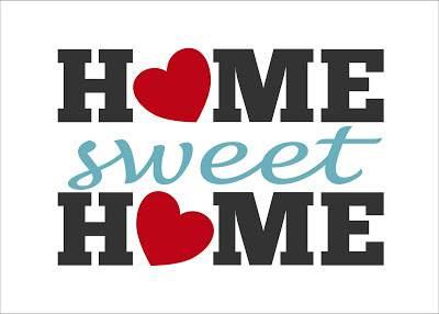 Home Sweet Home Printable - cheap wall art ideas