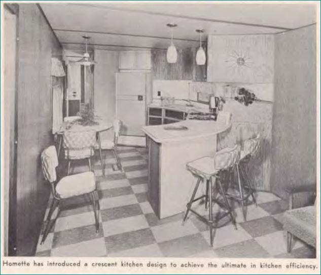 Homette's Crescent Kitchen 1960