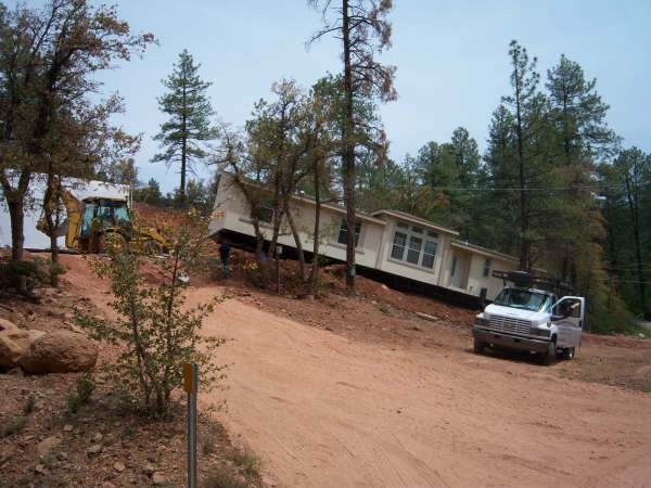 Transporting A Mobile Home: Find The Right Mobile Home Mover ... on setting footers for modular home, design a mobile home, blocking a mobile home,