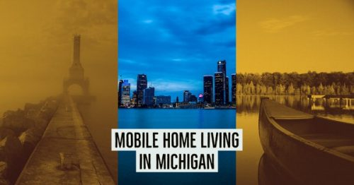 mobile home living in Michigan