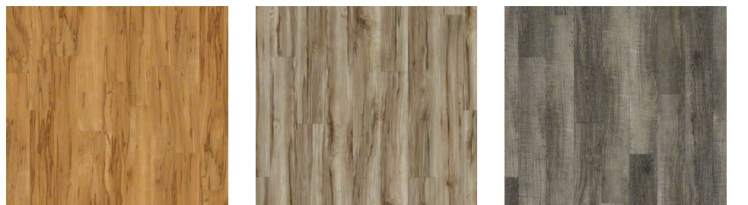 luxury vinyl flooring in wood plank shape -vinyl tile in manufactured homes