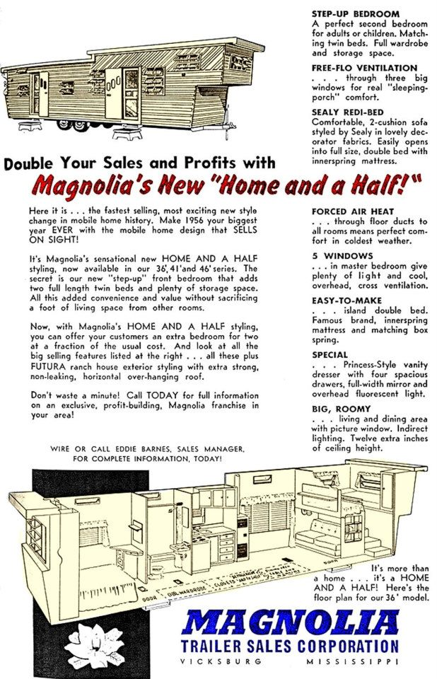Magnolia Home and a Half - Bi-Level Trailer