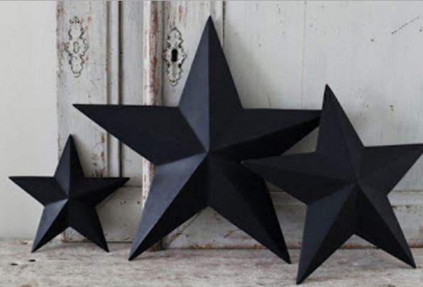Make your own barn star - carboard tutorial