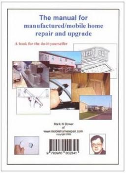 mobile home repair books-Manual for mobile home repair book cover
