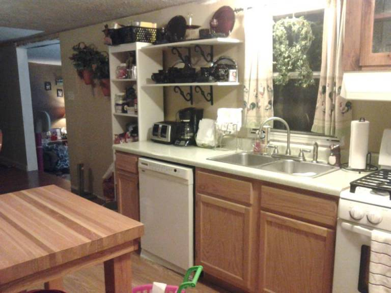 used mobile home kitchen cabinets 6 great mobile home kitchen makeovers mobile home living 27873