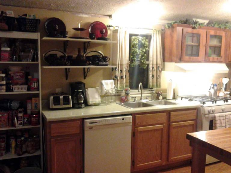 Manufactured Home Kitchen Makeover Ideas (13)