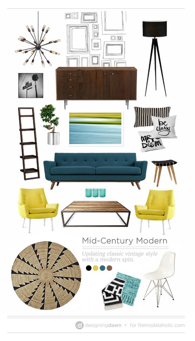 mid-century modern-Mid-Century-Modern furniture examples