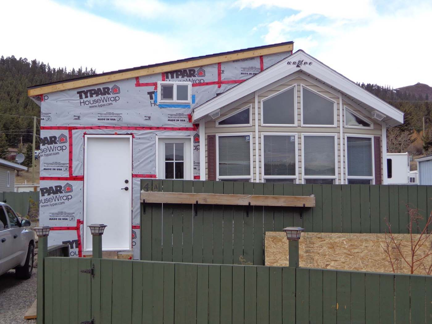 Building Mobile Home Additions on Cavco Park Models Floor Plans