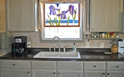Mobile Home Kitchen Makeover - New sink and Faucet