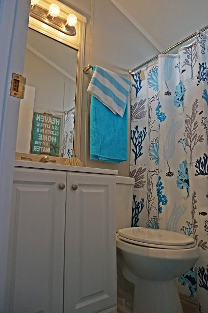 manufactured home renovation- After -Bathroom