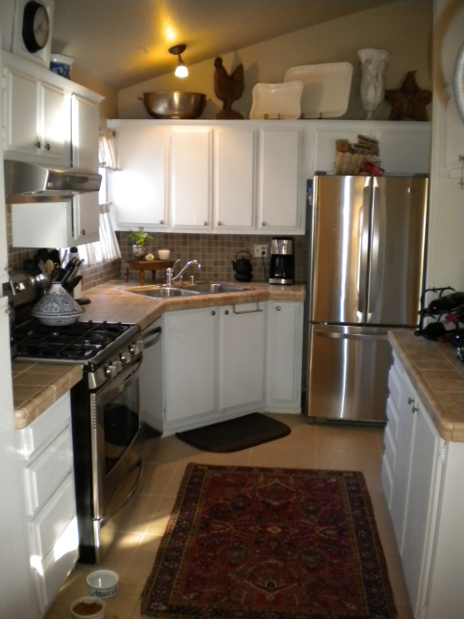 Manufactured home decorating ideas modern cottage style for Mobile home kitchens pictures