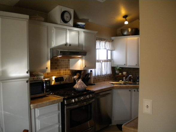 manufactured home decorating ideas-Mobile home kitchen re-do on a budget - Kitchen Designs - Decorating Ideas - HGTV Rate My Space (2)