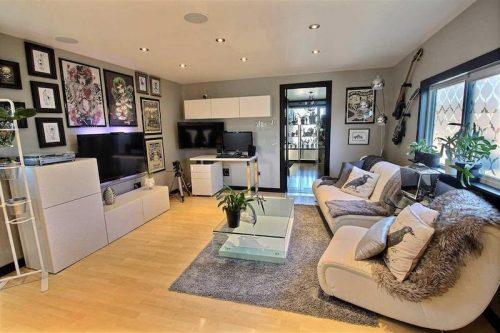 Monster Inspired Mobile Home - Open space living