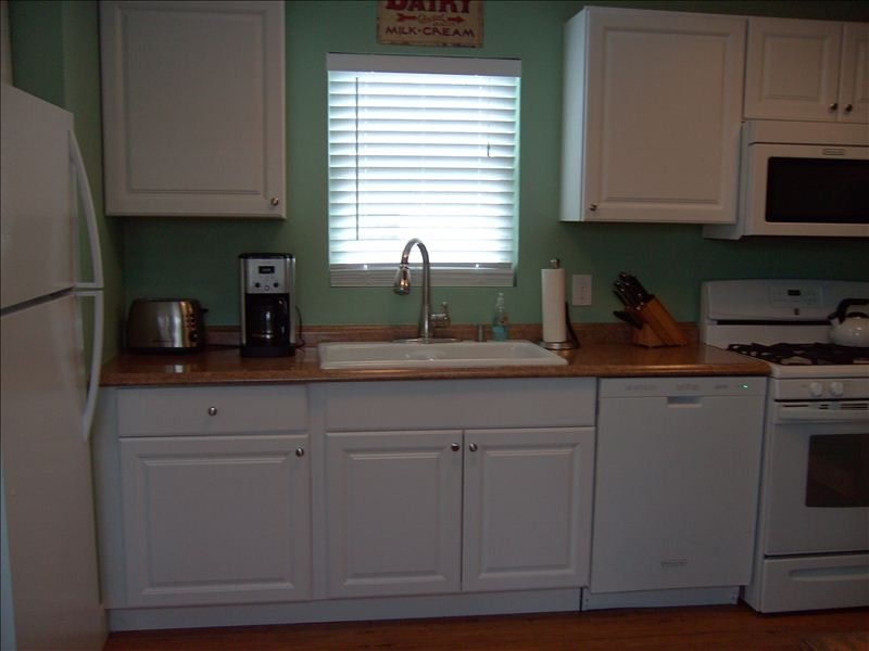 kitchen in remodeled manufactured home - Great Home Decorating Ideas
