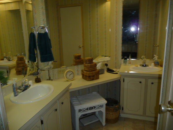 mobile home bathroom before and after-before
