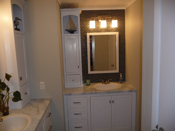 mobile home bathroom before and after-one sink2