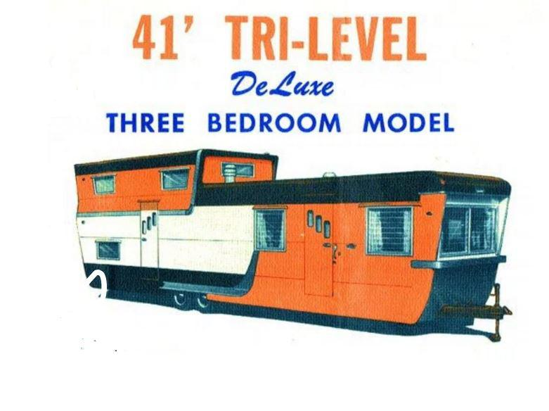 Pacemaker trillevel mobile home ad