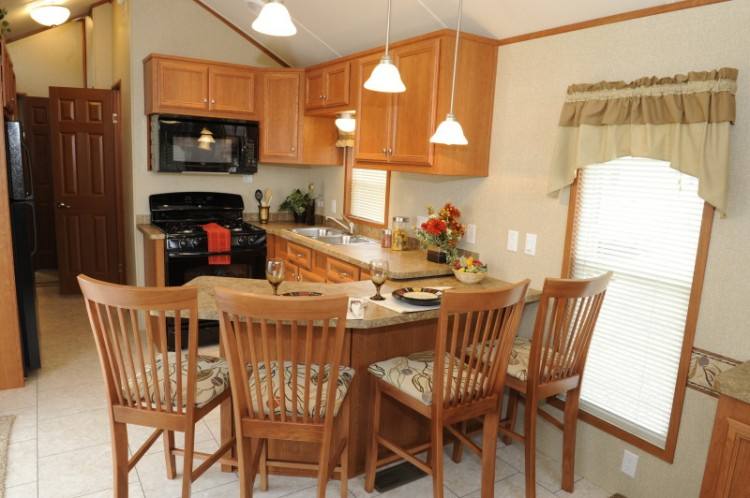 Park Model Homes Dining Room