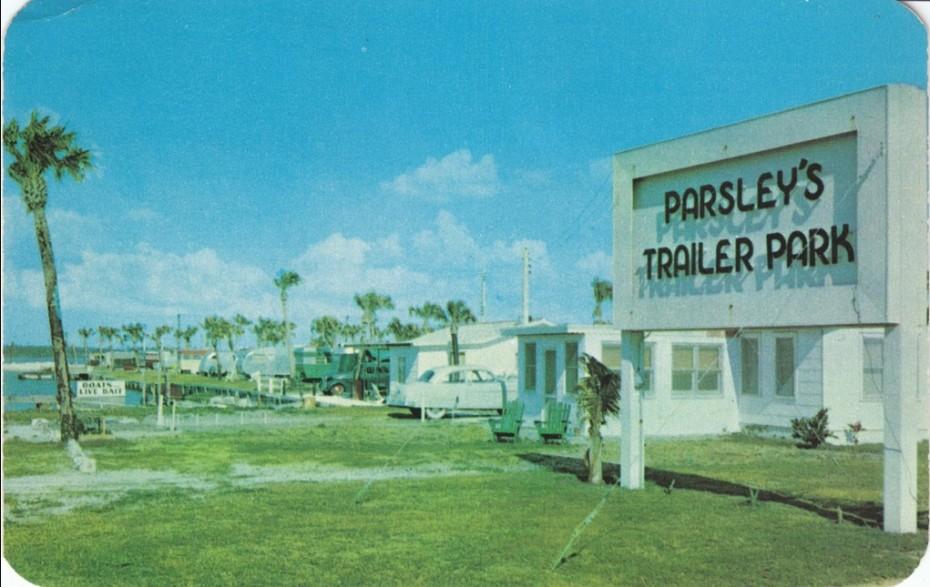 trailer parks-Parsleys trailer park vintage