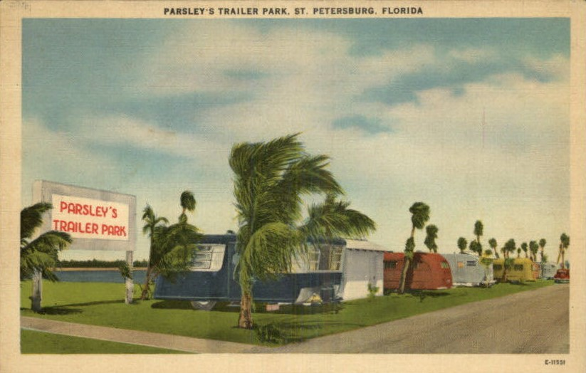 trailer parks-Parsleys trailer park