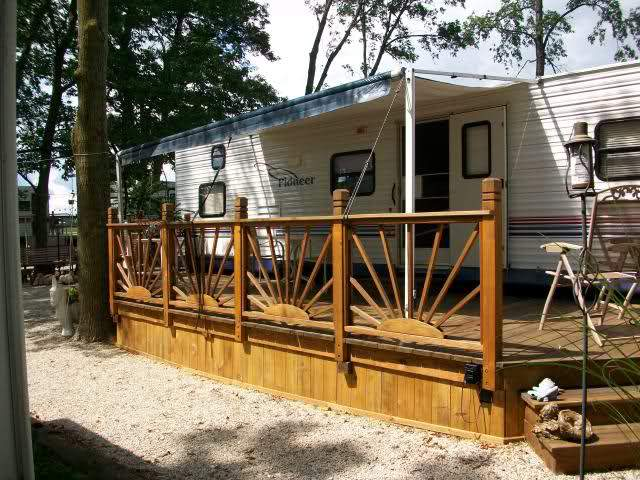 Decks Design Ideas deck design ideas Permanent Rv Deck Design Ideas
