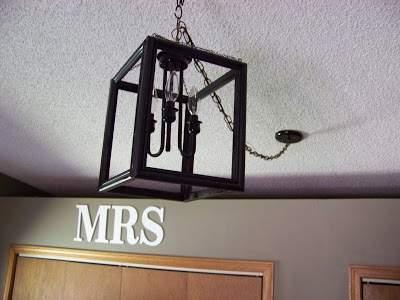 Picture frame DIY light