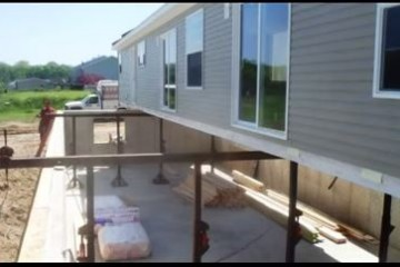 Placing a Manufactured Home Over a Full Basement