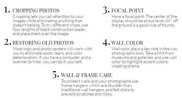 Pottery Barn Tips for DIY Wall Art Collages