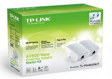 Power line networking kit