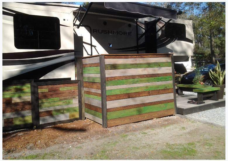 RV Deck Design - Portable, Stylish and Modern Style 2