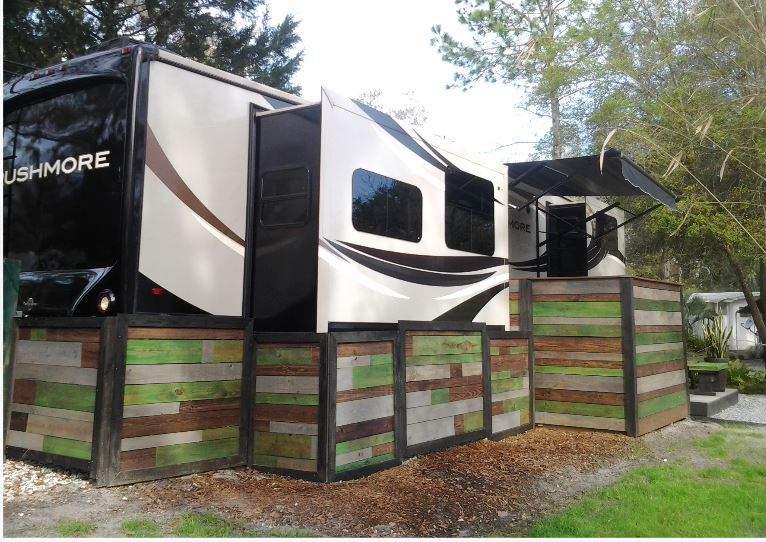 RV Deck Design - Portable, Stylish and Modern Style