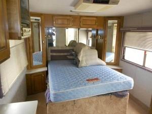 RV Remodel -Bedroom before RV remodel